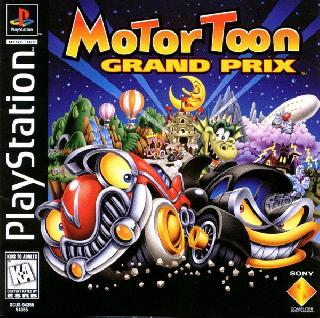 Screenshot Thumbnail / Media File 1 for Motor Toon Grand Prix [NTSC-U]